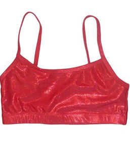 Metallic  Red Crop A