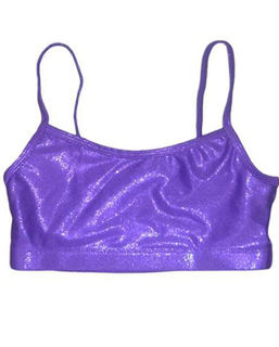 Metallic  Purple Crop A