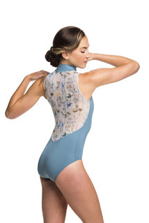 Spring Meadow Zip Front Leotard - LIMITED EDITION