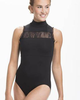 Rebecca with Kara Lace Leotard