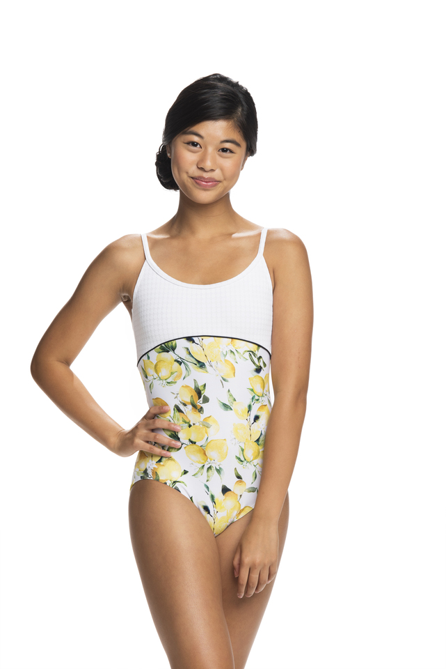 Limoncello Lily Leotard - LIMITED EDITION